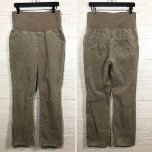 🌈 LOFT tan corduroy maternity pants